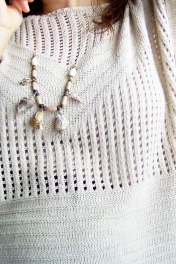 Para saber más o comprar visita: https://www.etsy.com/es/listing/253648735/collar-conchas-marinas-collar-alambre?ref=listing-shop-header-1